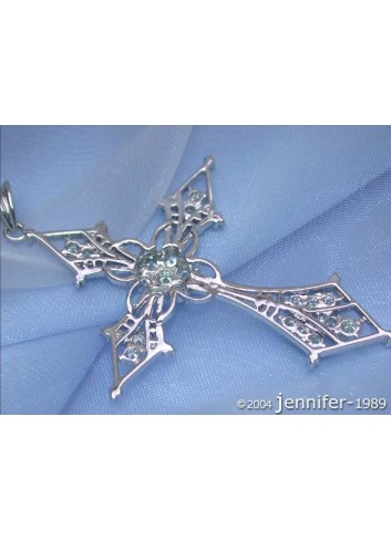 Exquisite Diamond Cross Pendant