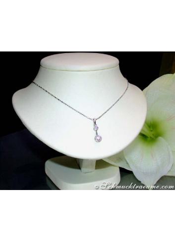 Delicate Diamond Solitaire Pendant