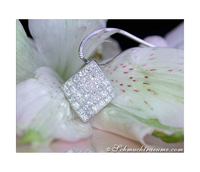 Timeless Princess Diamond Pendant