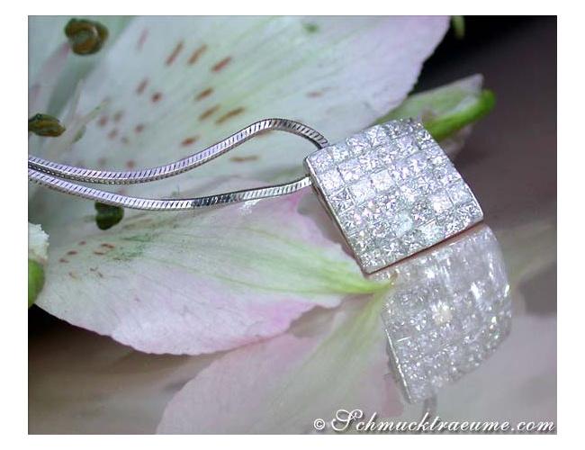 Timeless Princess Diamond Pendant
