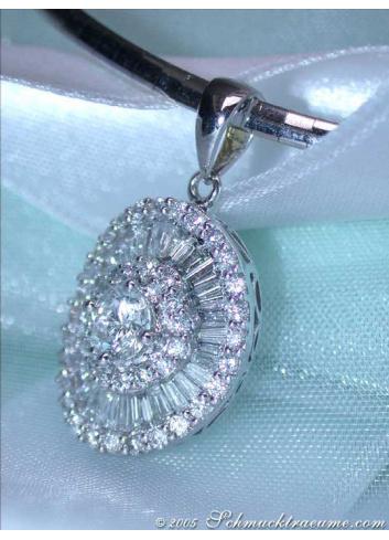 Diamant Solitär Anhänger