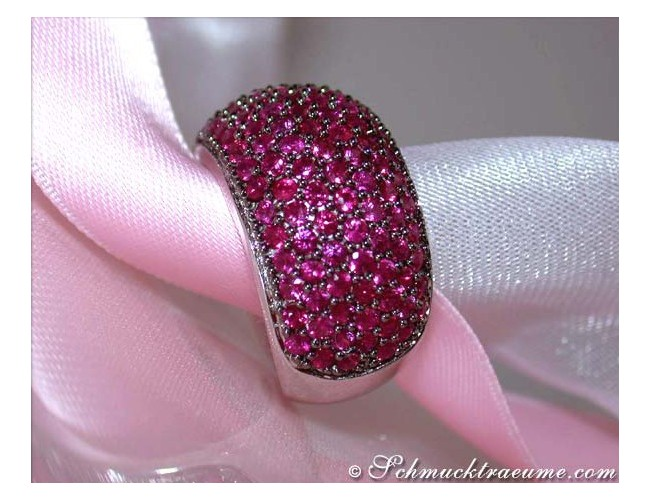 Stately Ruby Ring
