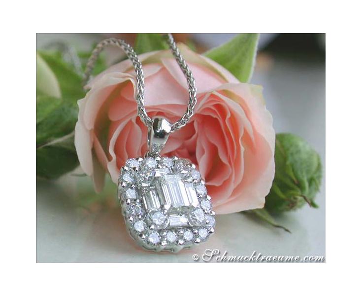 Diamanten Anhänger mit Brillanten