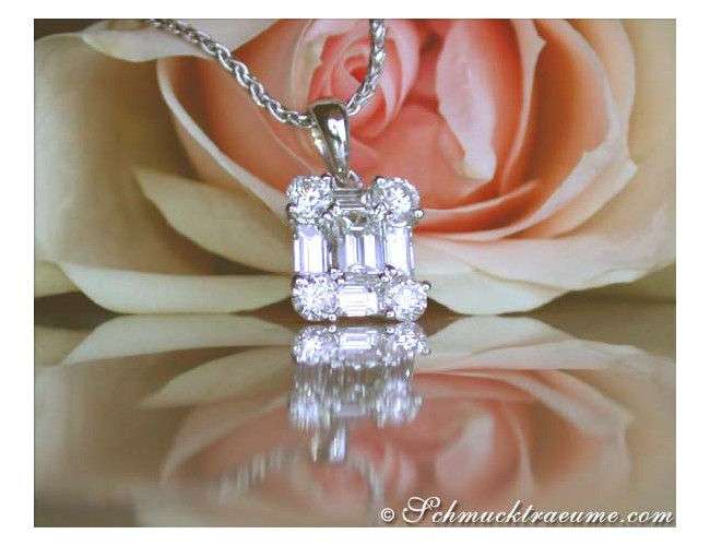 Exquisite Diamond Pendant