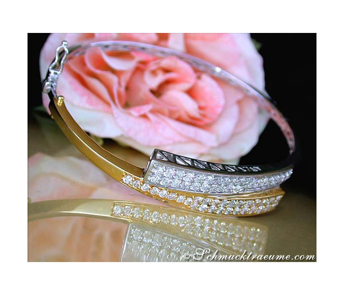Beautiful Diamond Bangle
