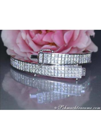 Top-Class Princess Diamond Bracelet