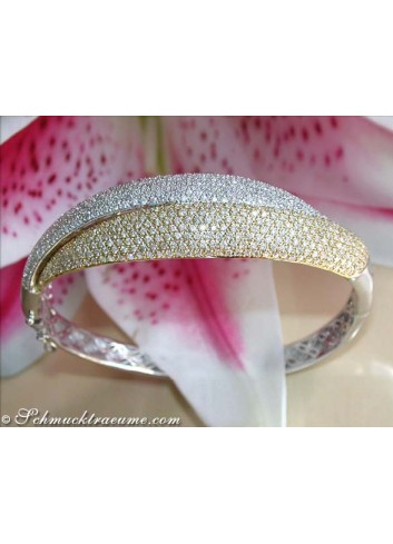 Heavy Diamond Bangle