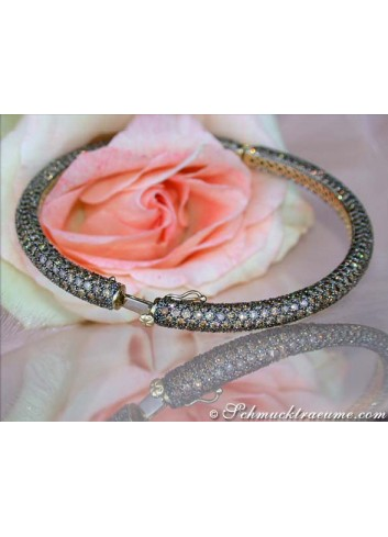 Terrific Brown Diamond Bangle