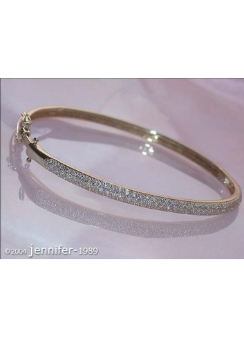 Diamanten Armreif in Gelbgold 585