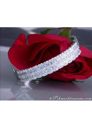 High-end Diamond Bangle