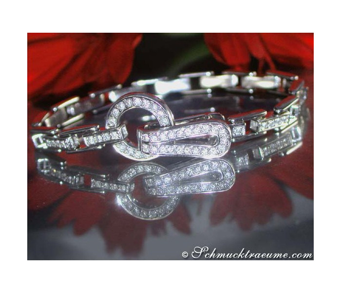 Handsome Diamond Bracelet