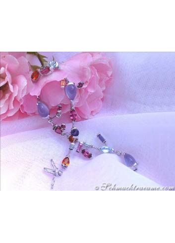 Magical Multicolor Diamonds Bracelet