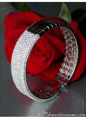 Heavy Diamond Bangle (11 ct.)