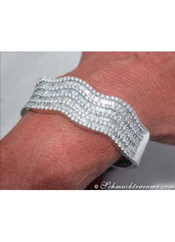 Magnificent Diamond Bangle