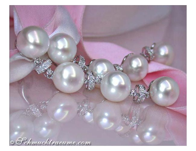 Beautiful Freshwater Pearl Earrings