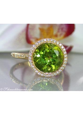 Peridot Ring Gelbgold 750