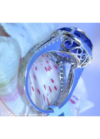 Tansanit Brillanten Ring