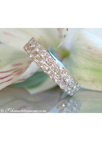 Precious Diamond Eternity Ring