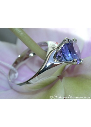 Stately Tanzanite Solitaire Ring