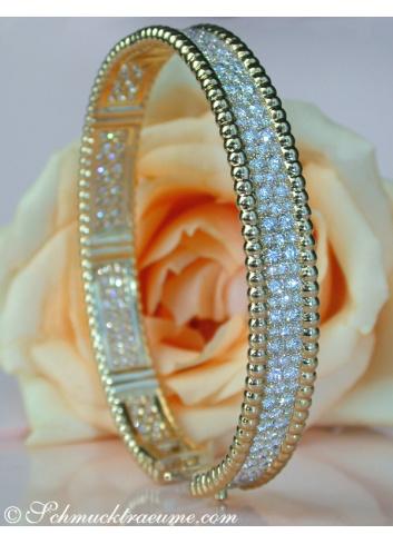 Exquisite Diamond Bangle (6,35 ct.)