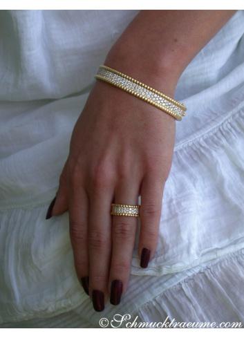 Exquisite Diamond Bangle