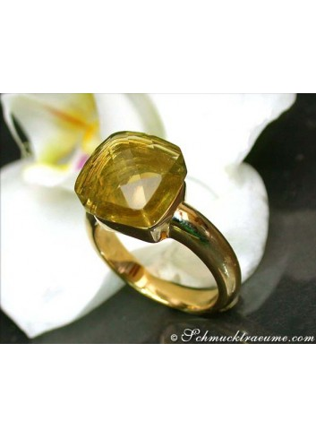 Pretty Lemon Quartz Ring