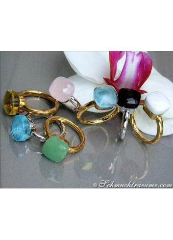 Edelstein Ringe
