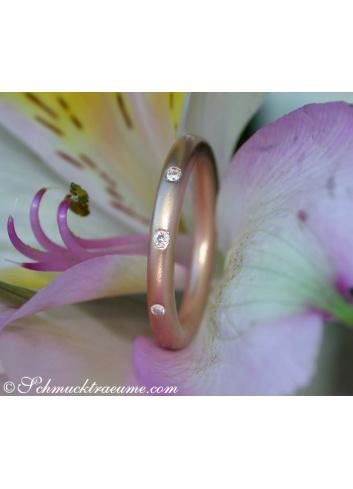 Brillanten Ring im Sternenhimmel Design
