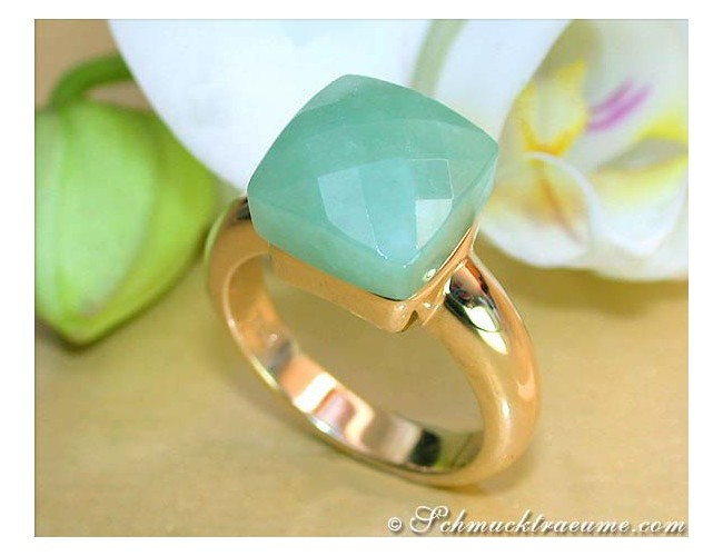 Feinster Natur Jade Ring