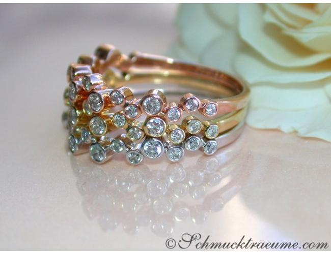 Three Pretty Diamond Eternity Rings