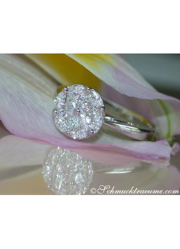 Captivating Diamond Ring (Illusion Design)