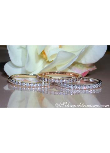 Three Cute Diamond Eternity Rings