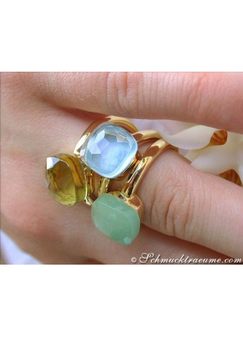 Edelstein Ringe Gold