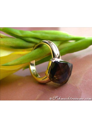 Finest Smoky Quartz Ring