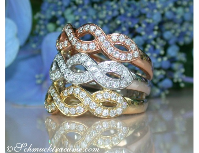 Three Diamond Rings in One