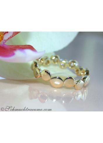 Brillanten Memory Ring in Gelbgold 585