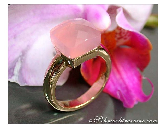 Picture Perfect Rose Quartz Ring