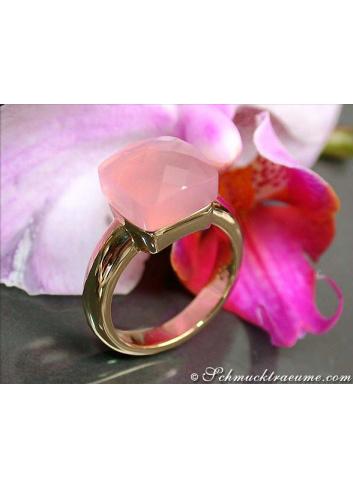 Pomellato Nudo Ring Rosenquarz
