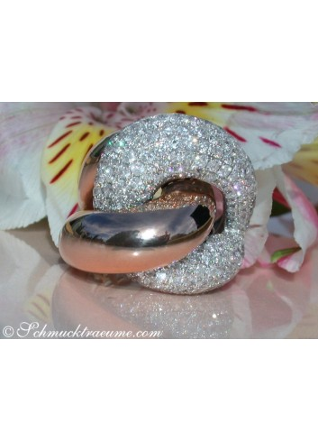 Striking Diamond Ring (4,36 ct.)