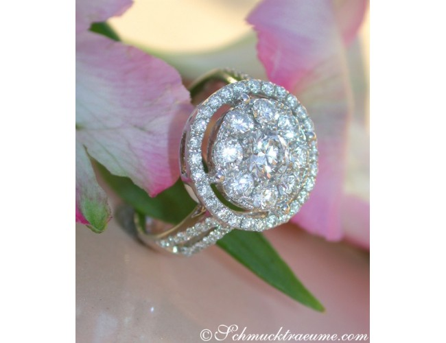 Exquisite Diamond Ring (Illusion Design)