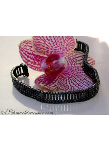 Stately Black Diamond Bracelet