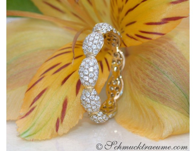 Timeless Diamond Pavé Eternity Ring