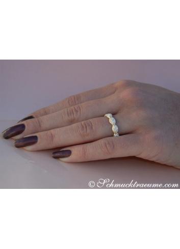 Timeless Diamond Pavé Eternity Ring