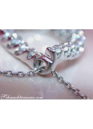 Precious Diamond Pear Pendant
