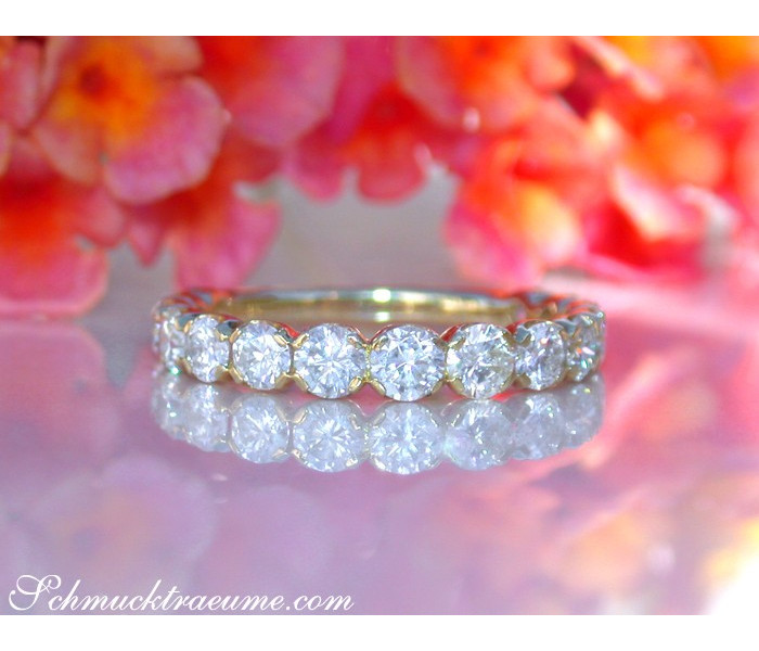 Precious Diamond Eternity Band