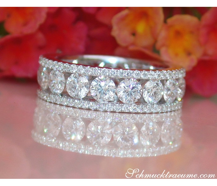 High Carat Diamond Eternity Ring