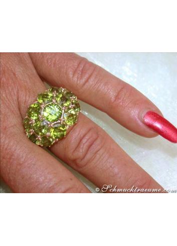 Huge Peridot Ring