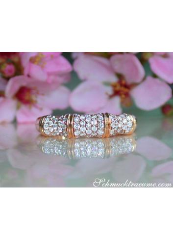 Interesting Diamond Bamboo Ring