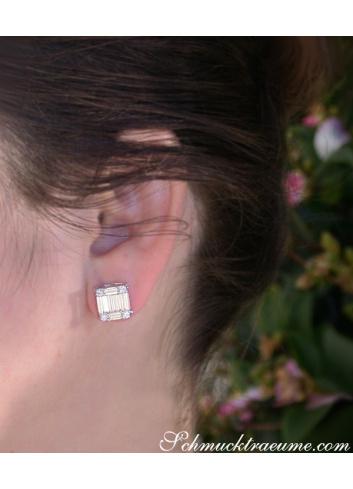 Unique Diamond Earrings of Finest Craftsmanship