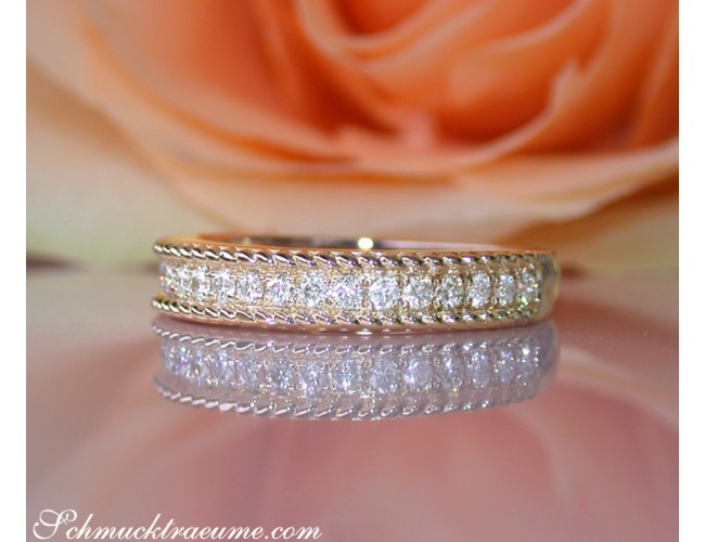 Pretty Diamond Rope Band